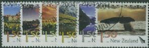 NZ SG2732-7 Tourism (1st series) set of 6